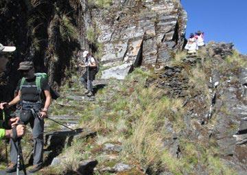 Khotia Lagoons - Inka Trail Choro Tour