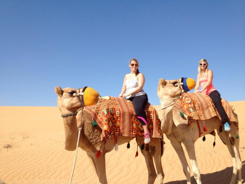 Camel Trekking Abu Dhabi With Animal Farm Visit Package