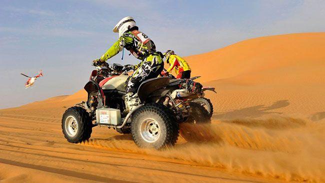 Abu Dhabi Desert Tour With Quad Biking Package