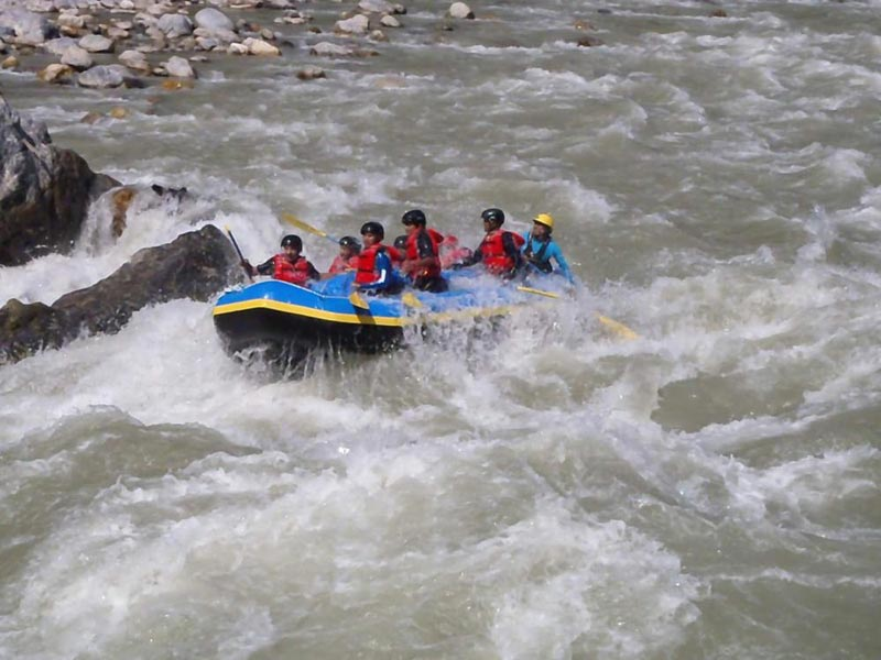 Rafting In Bhote Koshi River