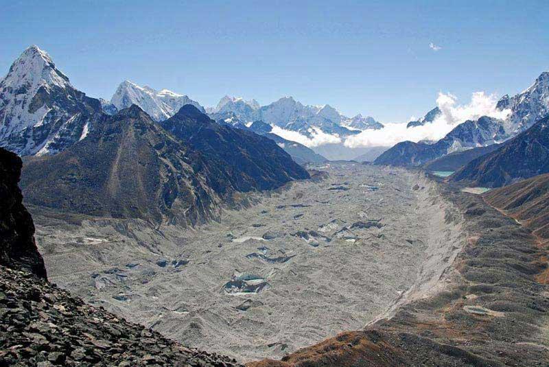 Renjo - La, Gokyo, Cho - La, Everest B. C. Trek Package