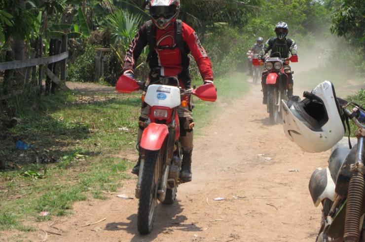 Dirt Bike To Koh Ker Tour