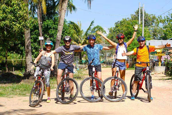 Biking To Angkor & Jungle Zip Lin Adventure Tour