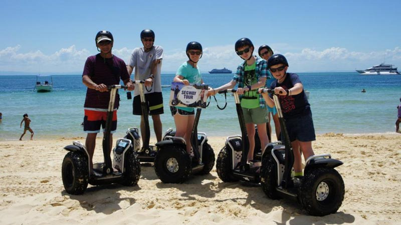 Adventure Moreton Island Day Pass Package