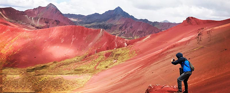 Rainbow Mountain & Red Valley 2 Days Hike Package