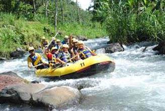 Telaga Waja Rafting Package