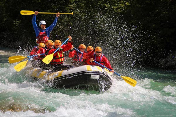 Rafting – A Fun Activity In Slovenia Package