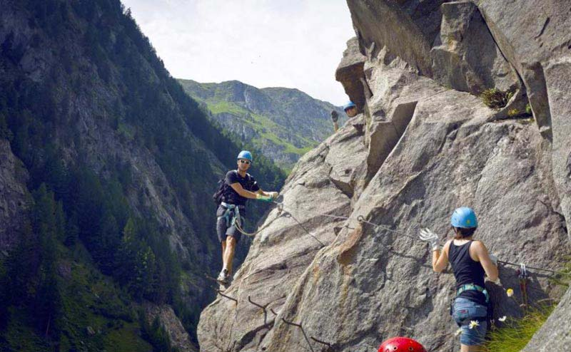 Fixed Rope Route - Via Ferrata Package