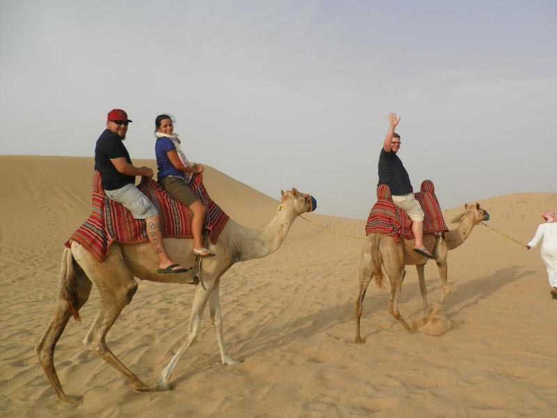 Morning Safari + Camel Ride Package