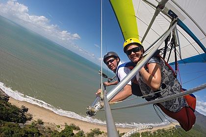 Updraught Hang Gliders – Tandem Intro Flight Package