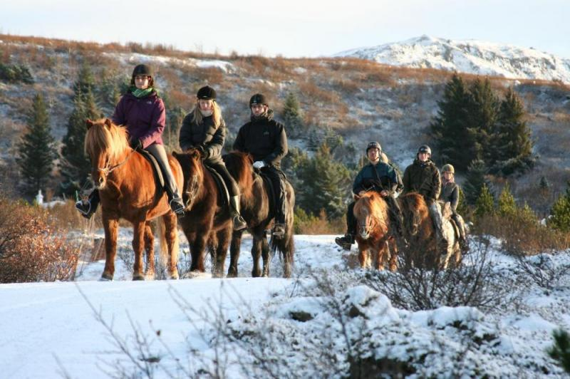 Caving And Horseback Riding Tour In Iceland