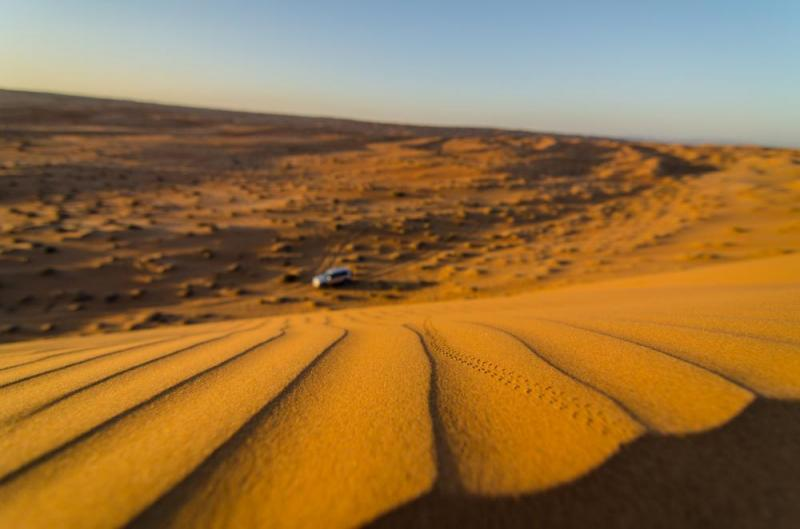An Oman Desert Walking Holiday Across Arabian Sands Package