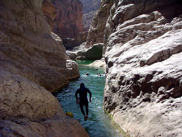 Ten Days Canyoning In Oman Package