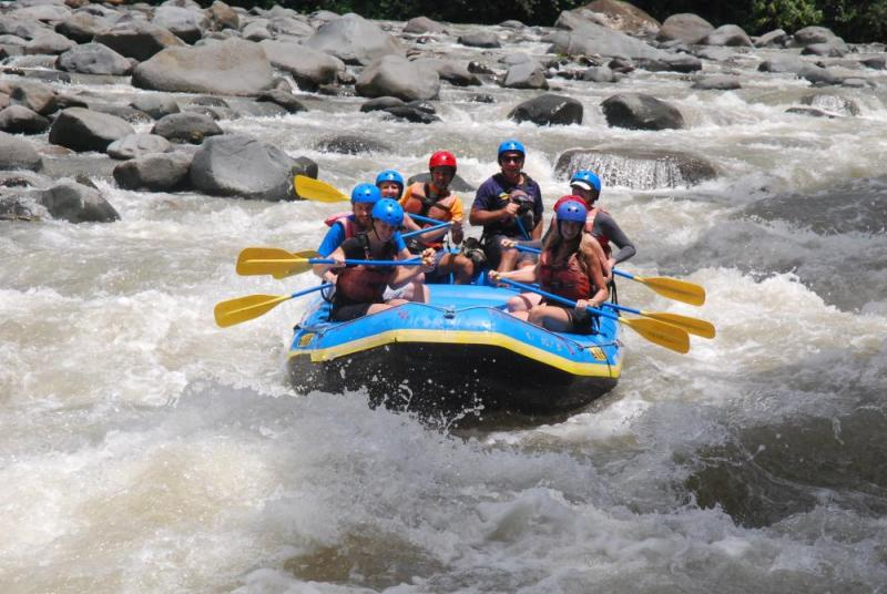 1 Day White Water Rafting Tour Package