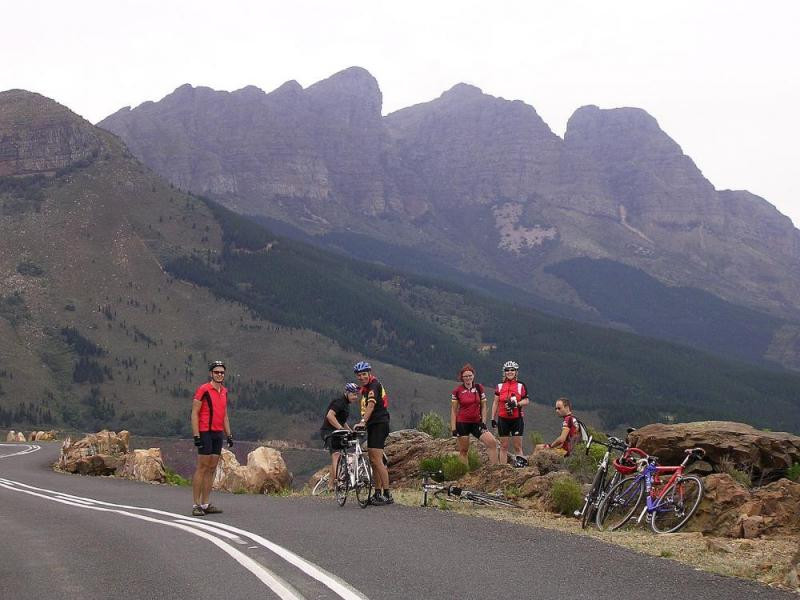 Cycling Tour Along The Garden Route To Capetown Tour A & B Package