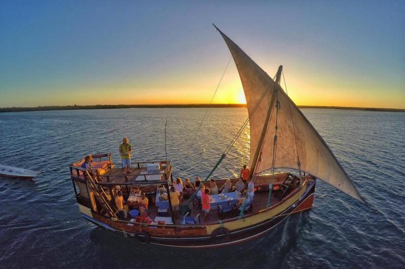 Tamarind Dhow Dinner Cruise Package