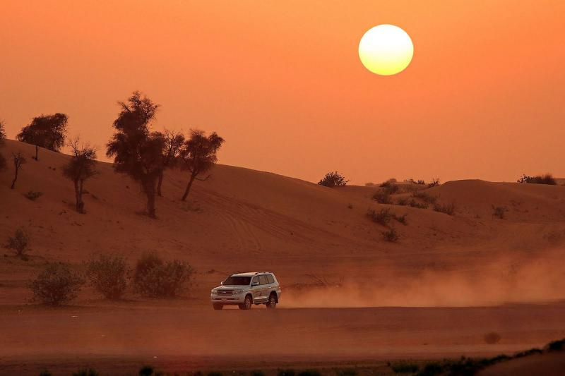 Desert Safari With Alcohol Package