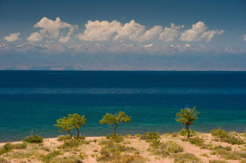On The Trace Of The Great Silk Road Around Issyk Kul Lake Package
