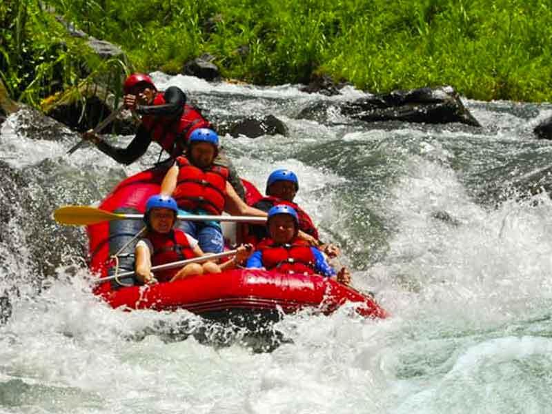 Bali Rafting - Telaga Waja River - Bali White Water Rafting Package