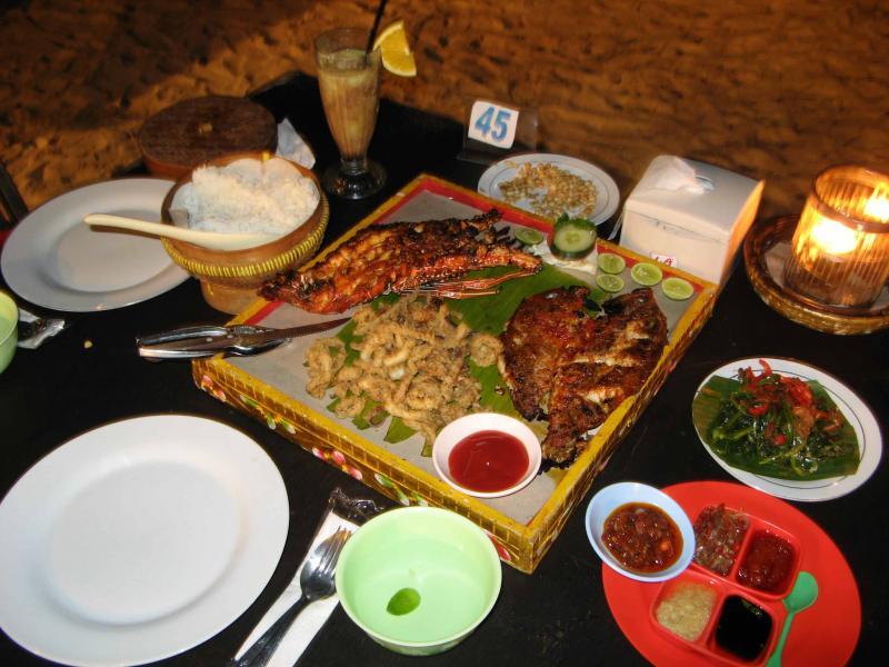 Jimbaran Bay Seafood Tour