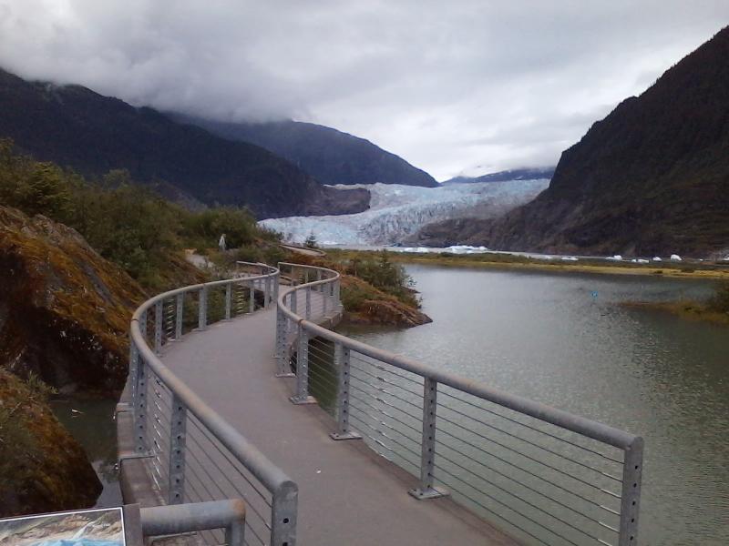 Juneau Mendenhall Lake Canoe Adventure Package
