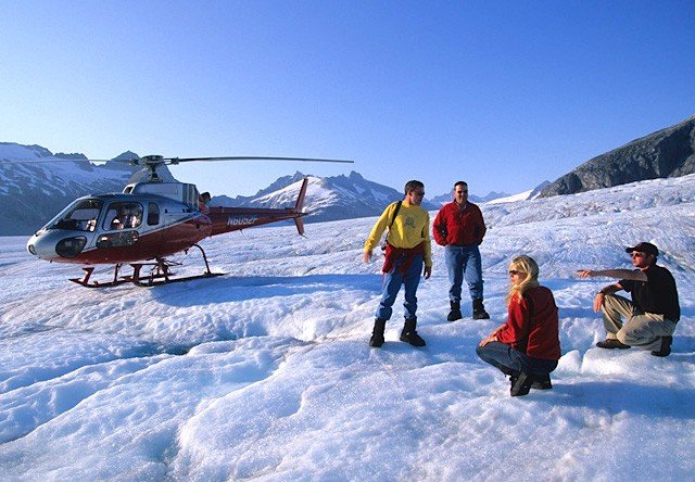 Skagway Glacier Helicopter Tour Package
