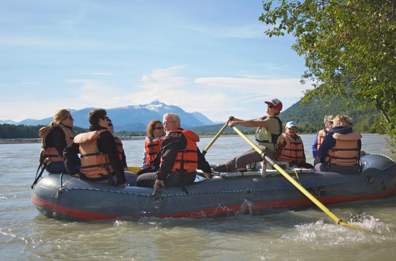 Skagway Chilkat Bald Eagle Preserve Rafting Tour To Haines Package