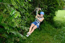 Canopy Zipline And Jungle River Cruise Combo Tour