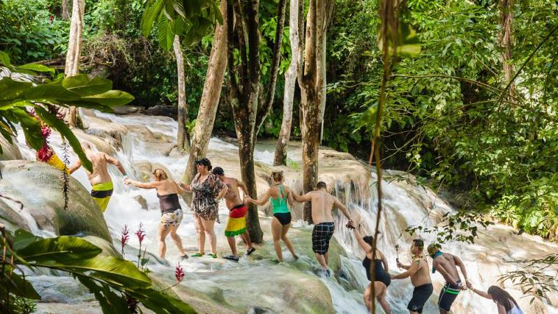 Rafting, Kayaking Or Tubing Plus Dunns River Falls Tour