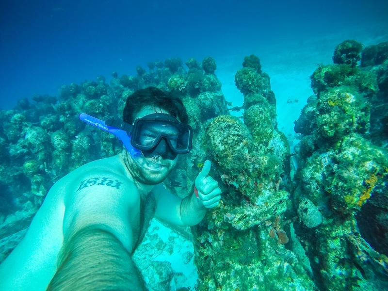 Swim Through The Amazing Underwater Sculpture Park Tour