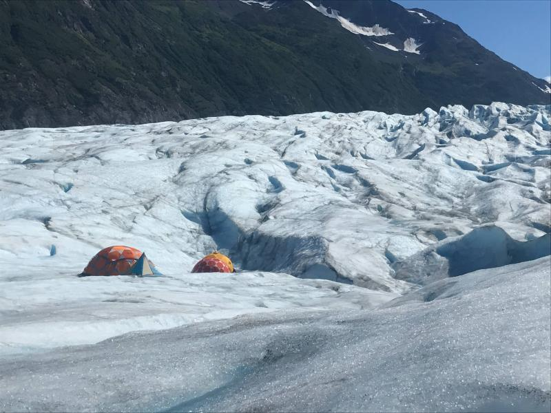 Overnight Glacier Camping Package