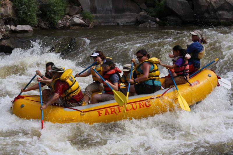 Rafting Day Tours Package