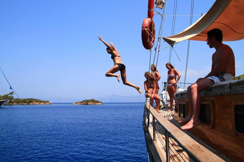 Fethiye To Marmaris Blue Cruises Turkey Package