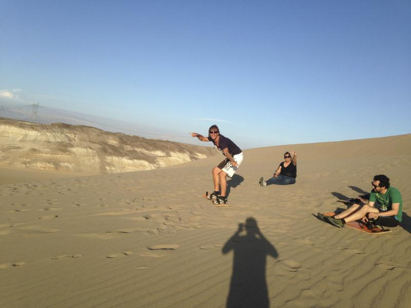 Sandboarding In Nazca Package