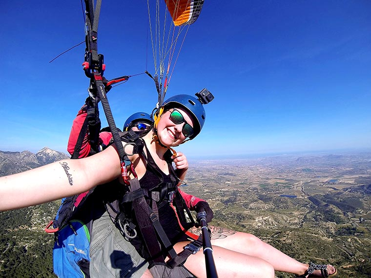 Tandem Paragliding Benidorm Pack Full Package