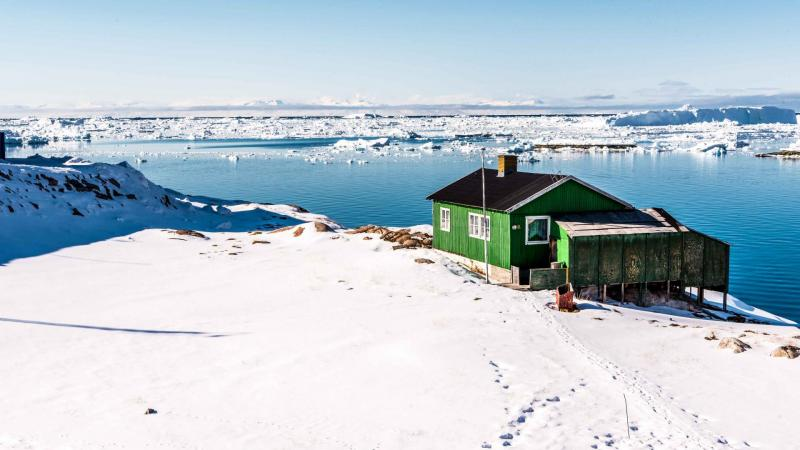 Winter Image Of Ilulissat Greenland Package Tour