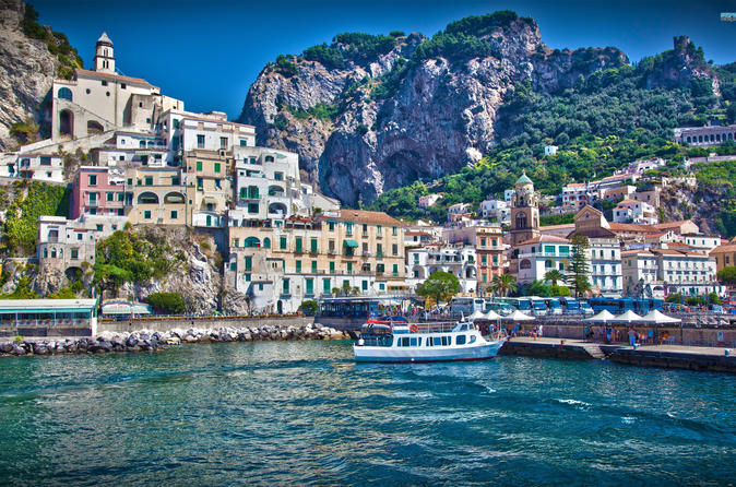 Shore Ex. Of Amalfi Coast & Ravello From Naples Port Package