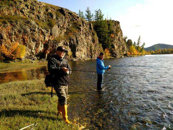 Fishing Tour In Mongolia
