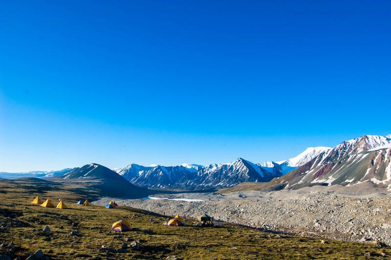 Altai Tavan Bogd National Park Trekking