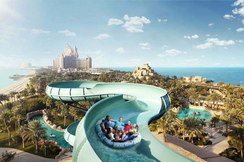 Dubai Aquaventure Water Park And Lost Chamber Tour