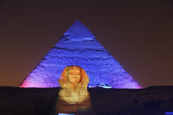 Pyramids Sound And Light Show Tour