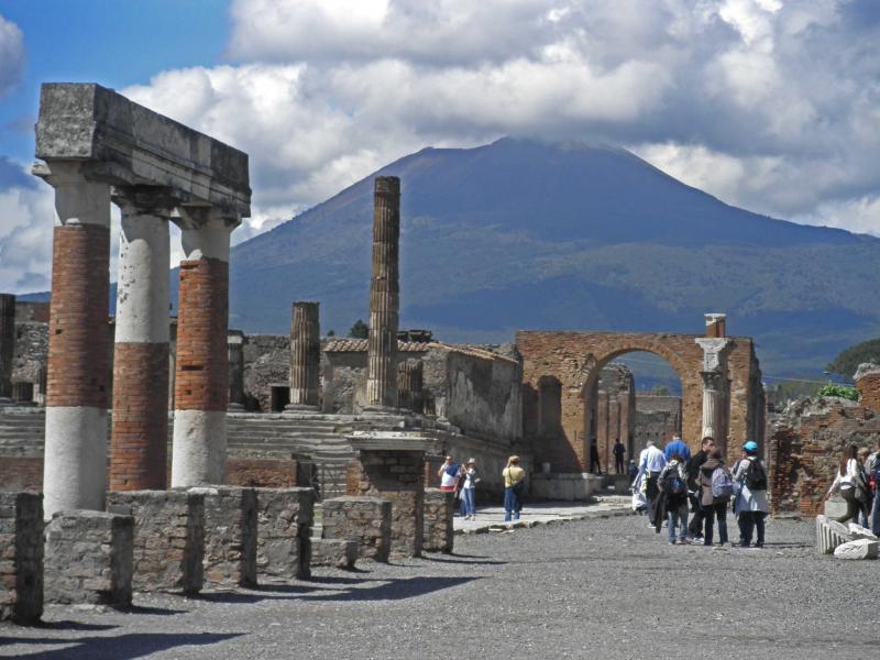 Pompei Herculaneum Vesuvius