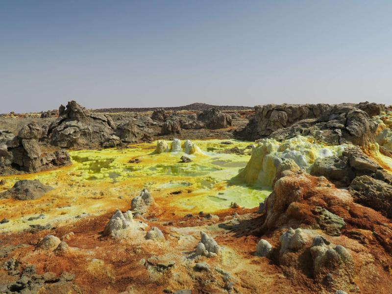Danakil Depression Tour 5 Days From Addis Ababa