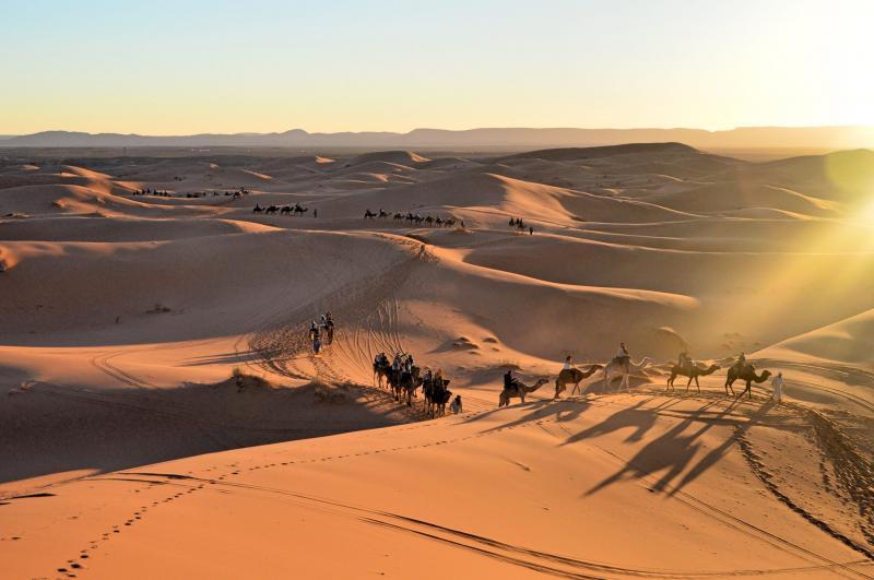 1day Trip & Night In Merzouga Desert Tour Package