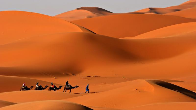 3 Days Marrakech Erg Chbi Desert Package