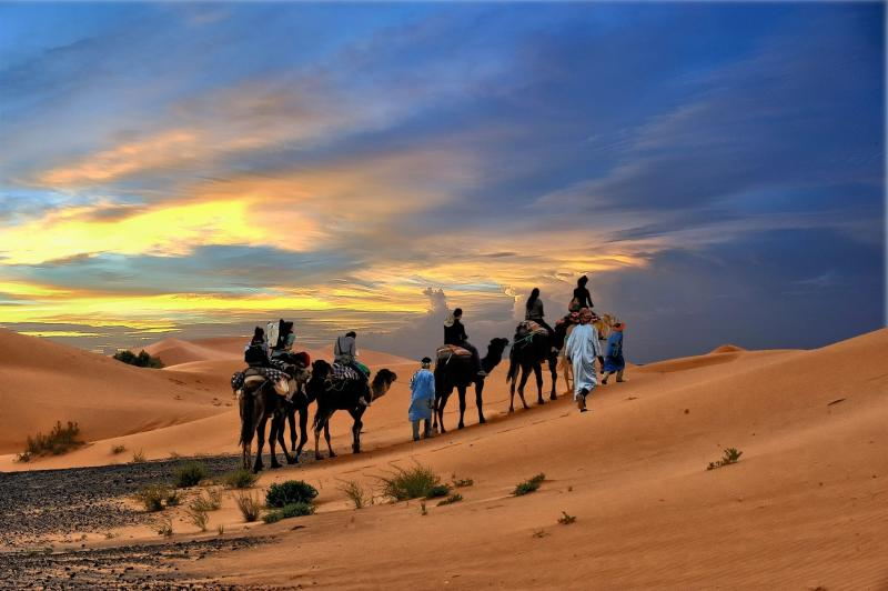 3 Days Marrakech / Fes Desert Tour Package