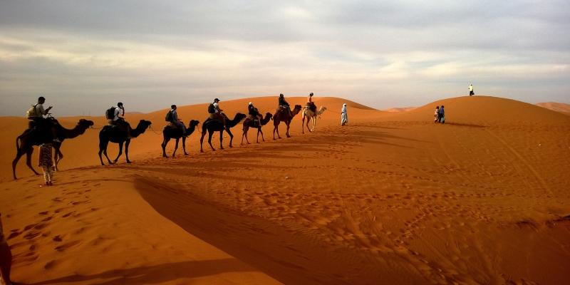 4 Days Marrakech Erg Chbi Desert Tour Package