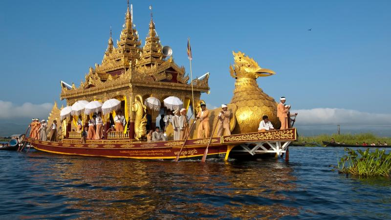 Festival Tours (phaung Daw Oo Pagoda Festival) Package