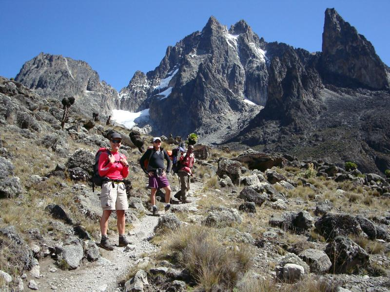 Mt.kenya - Up Sirimon/down Naro Moru Tour