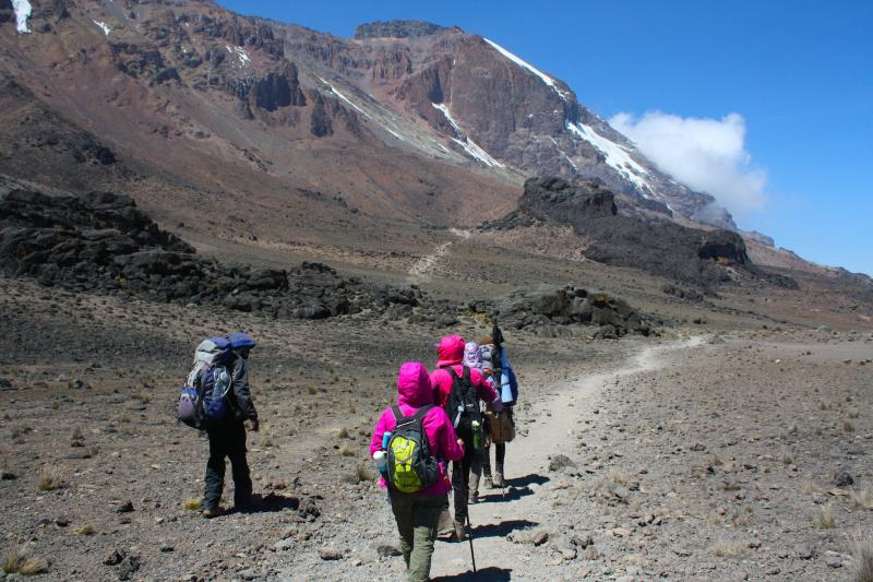 Mount Kilimanjaro (via Marangu Route)  Tour